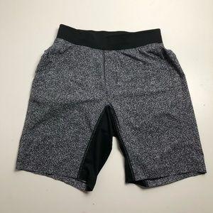 Lululemon Athletica Mens Small Silver Gray Shorts